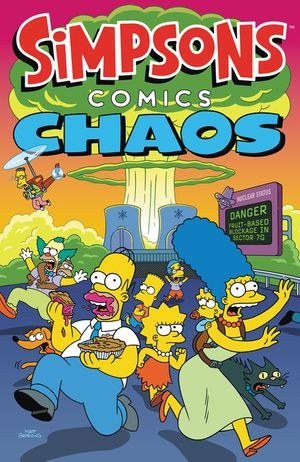 Simpsons Comics Chaos book image