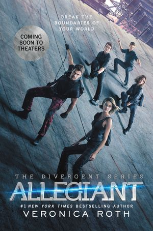 Allegiant Movie Tie-in Edition book image