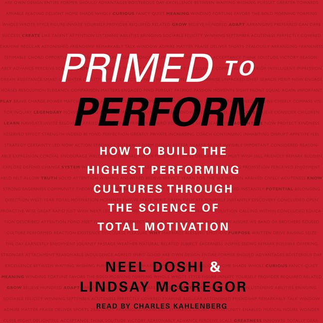 Book cover image: Primed to Perform: How to Build the Highest Performing Cultures Through the Science of Total Motivation | New York Times Bestseller