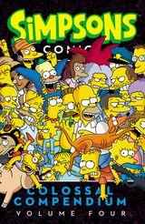Simpsons Comics Colossal Compendium Volume 4