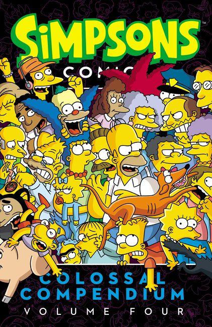 Simpsons Comics Colossal Compendium Volume 4 Matt