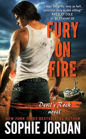 Fury on Fire Paperback  by Sophie Jordan
