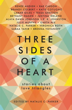 Three Sides of a Heart: Stories About Love Triangles book image