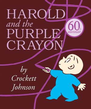 Harold and the Purple Crayon Lap Edition book image