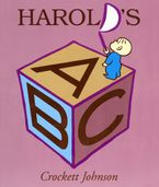 Harold's ABC Board Book Paperback  by Crockett Johnson