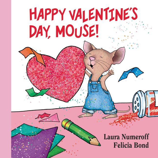 Book Cover Handmade Valentines : Happy valentine s day mouse lap edition laura numeroff