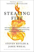 Book cover image: Stealing Fire: How Silicon Valley, the Navy SEALs, and Maverick Scientists Are Revolutionizing the Way We Live and Work | National Bestseller
