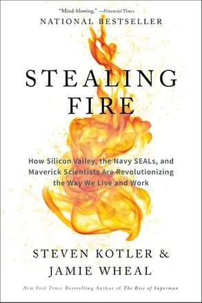Cover image - Stealing Fire: How Silicon Valley, The Navy Seals, And Maverick Scientists Are Revolutionizing The Way We Live And Work