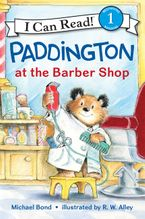 Paddington at the Barber Shop Hardcover  by Michael Bond