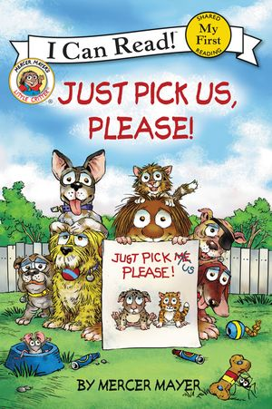 Little Critter: Just Pick Us, Please! book image