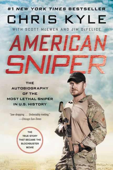 Chris Kyle American Sniper Book