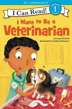 I Want to Be a Veterinarian book image