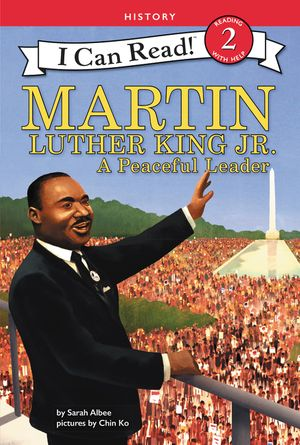 Martin Luther King Jr.: A Peaceful Leader book image
