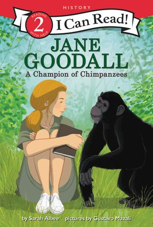 Jane Goodall: A Champion of Chimpanzees book image