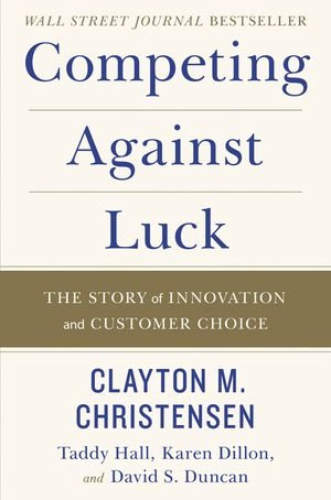 Competing Against Luck book image
