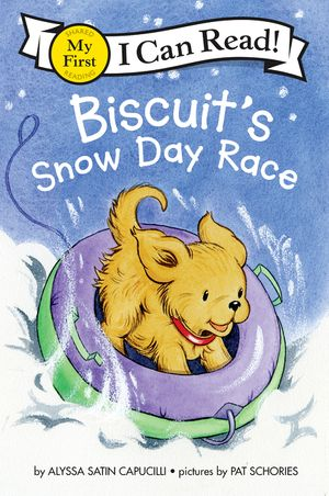 Biscuit's Snow Day Race book image