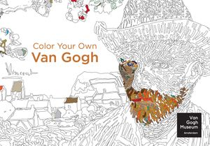 Color Your Own Van Gogh book image