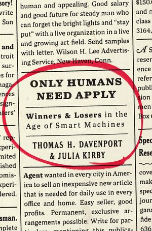 Only Humans Need Apply book image