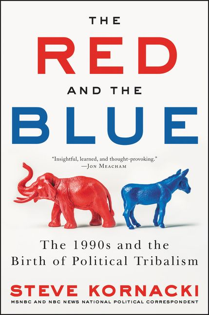 the red and the blue steve kornacki hardcover