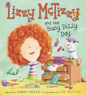 Lizzy McTizzy and the Busy Dizzy Day book image