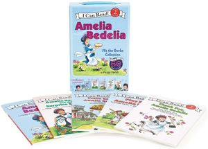 Amelia Bedelia I Can Read Box Set #1: Amelia Bedelia Hit the Books book image