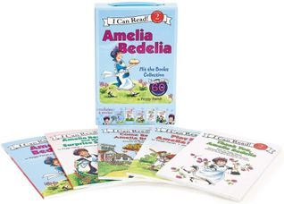 Amelia Bedelia I Can Read Box Set #1: Amelia Bedelia Hit the Books Collection