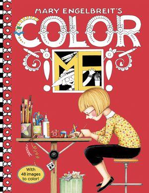 Mary Engelbreit's Color ME Coloring Book book image