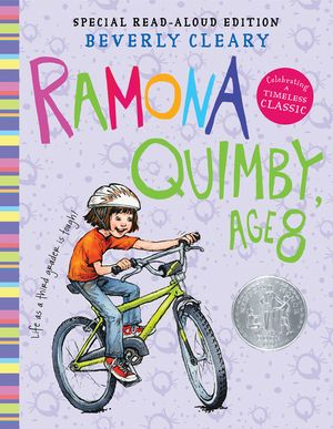Ramona Quimby, Age 8 Read-Aloud Edition book image