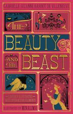 The Beauty and the Beast (Illustrated with Interactive Elements) Hardcover  by Gabrielle-Suzanna Barbot de Villenueve