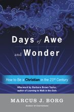 Days of Awe and Wonder Hardcover  by Marcus J. Borg