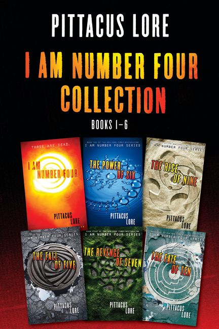 I Am Number Four Collection: Books 1-6 - Pittacus Lore - E-book