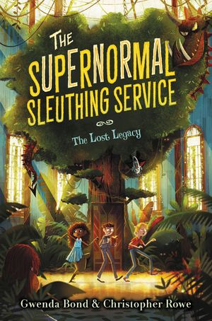 The Supernormal Sleuthing Service #1: The Lost Legacy book image