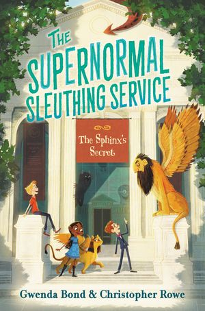 The Supernormal Sleuthing Service #2: The Sphinx's Secret book image