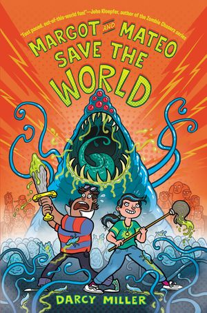 Margot and Mateo Save the World book image