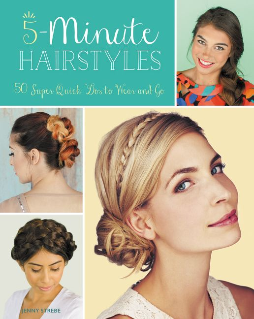 5-Minute Hairstyles - Jenny Strebe - Paperback