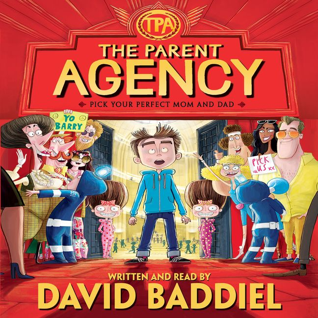 The Parent Agency David Baddiel Digital Audiobook