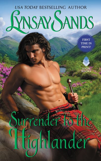 Surrender to the Highlander book cover