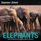 Elephants Hardcover  by Seymour Simon