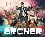 The Art of Archer Hardcover  by Neal Holman