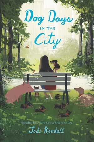 Dog Days in the City book image