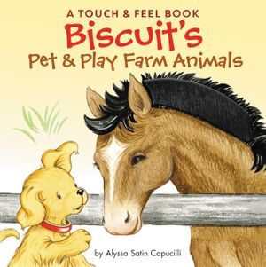 Biscuit's Pet & Play Farm Animals book image