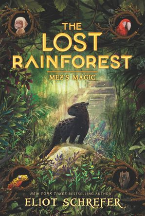 The Lost Rainforest #1: Mez's Magic Paperback  by Eliot Schrefer