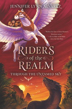 Riders of the Realm #2: Through the Untamed Sky book image