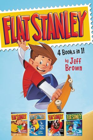 Flat Stanley 4 Books in 1! book image