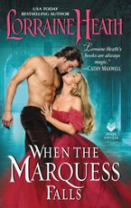 When the Marquess Falls Paperback  by Lorraine Heath