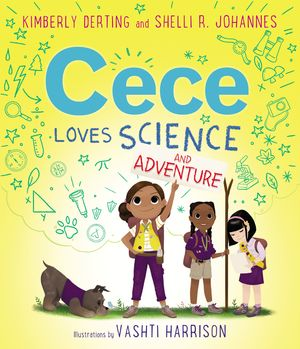 Cece Loves Science and Adventure book image