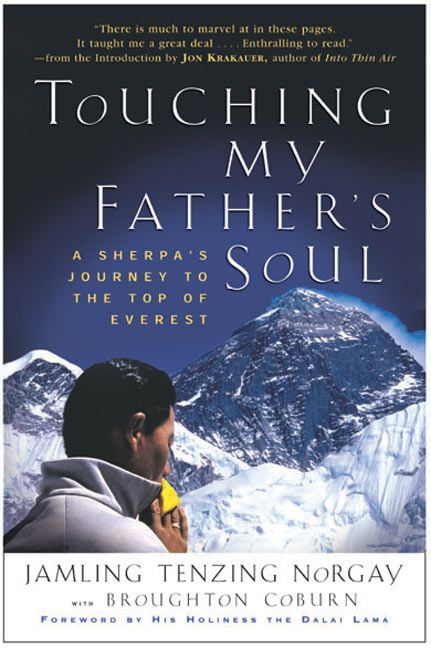 touching my father s soul jamling t norgay paperback