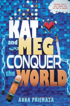 Kat and Meg Conquer the World book image