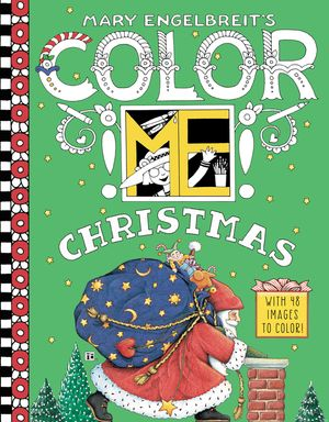 Mary Engelbreit's Color ME Christmas Coloring Book book image