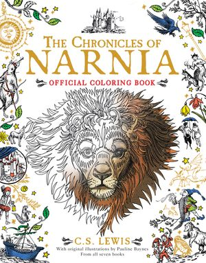The Chronicles of Narnia Official Coloring Book book image